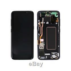 Ecran Complet Original Noir Samsung galaxy S8 plus G955F
