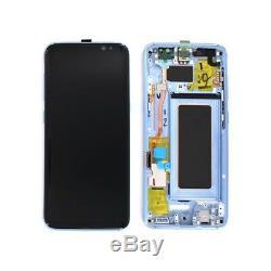 Ecran Complet Original Samsung galaxy S8 G950F Bleu
