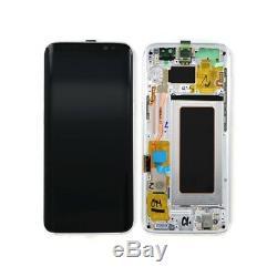 Ecran Complet Original Samsung galaxy S8 G950F Noir Bleu Or Argent ou Violet