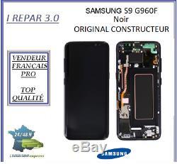Ecran Complet Original Samsung galaxy S9 G960F Noir