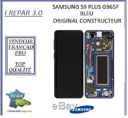 Ecran Complet Original Samsung galaxy S9 Plus G965F Bleu