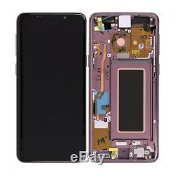 Ecran Complet Original Samsung galaxy S9 Plus G965F Noir Bleu Orchidée/Violet