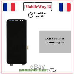 Ecran Complet Original Service Pack Samsung Galaxy S8 Sm-g950 Gold/noir/bleu