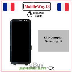 Ecran Complet Original Service Pack Samsung Galaxy S9 G960 Violet/silver