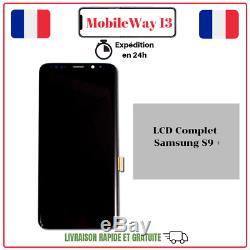 Ecran Complet Original Service Pack Samsung Galaxy S9 Plus G965 Noir