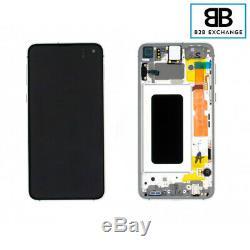 Écran Complet Samsung Galaxy S10E BLANC G970F Original Pack Service +Outils