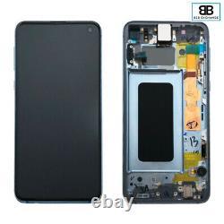 Écran Complet Samsung Galaxy S10E BLEU G970F Original Pack Service +Outils