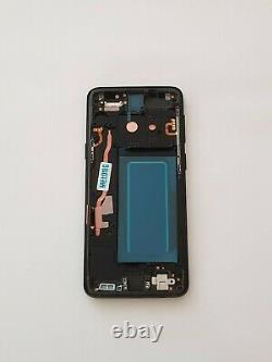 Ecran Complet sur Cadre Samsung Galaxy S9 SM-G960F Noir Original