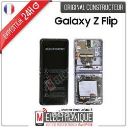 Ecran De Remplacement Pliable Violet Original Samsung Galaxy Z Flip Sm-f700f