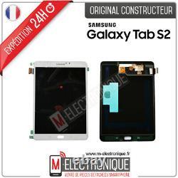Ecran LCD Blanc Original Galaxy Tab S2 8.0 Sm-t710