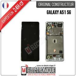 Ecran LCD Blanc Original Samsung Galaxy A51 5g Sm-a516b