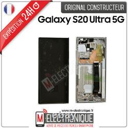 Ecran LCD Blanc Original Samsung Galaxy Note 20 Ultra 5g Sm-n986b