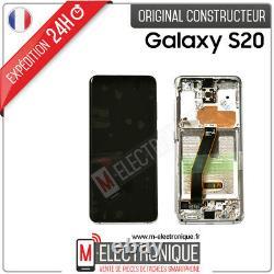 Ecran LCD Blanc Original Samsung Galaxy S20 Sm-g980f 4g/5g