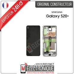 Ecran LCD Blanc Original Samsung Galaxy S20+ Sm-g985f