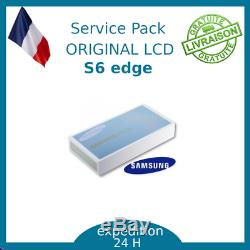 Ecran LCD Blanc Original Samsung Galaxy S6 Edge G925F
