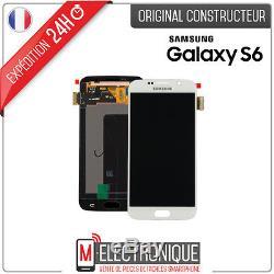 Ecran LCD Blanc Original Samsung Galaxy S6 G920