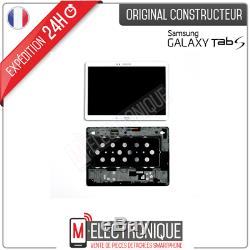 Ecran LCD Blanc Original Samsung Galaxy Tab S 10.5 Sm-t800