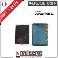 Ecran LCD Blanc Original Samsung Galaxy Tab S2 9.7 Sm-t819