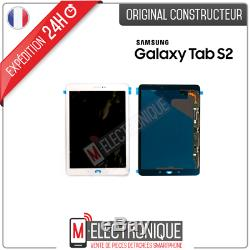 Ecran LCD Blanc Original Samsung Galaxy Tab S2 9.7 T810