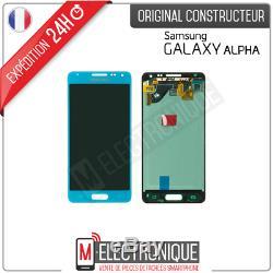 Ecran LCD Bleu Original Samsung Galaxy Alpha G850