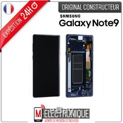Ecran LCD Bleu Original Samsung Galaxy Note 9 SM-N960F