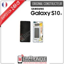 Ecran LCD Bleu Original Samsung Galaxy S10+ Sm-975f