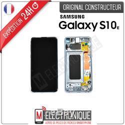 Ecran LCD Bleu Original Samsung Galaxy S10e Sm-g970f