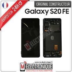 Ecran LCD Bleu Original Samsung Galaxy S20 Fe 4g Sm-g780f