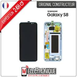 Ecran LCD Bleu Original Samsung Galaxy S8 G950F