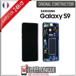 Ecran LCD Bleu Original Samsung Galaxy S9 G960F