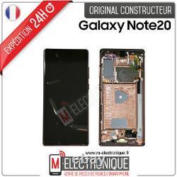 Ecran LCD Bronze Original Samsung Galaxy Note 20 Sm-n981