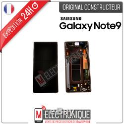 Ecran LCD Brun Original Samsung Galaxy Note 9 N960