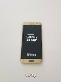 Ecran LCD Complet Avec Cadre Samsung Galaxy S6 Edge SM-G925F Doré Original