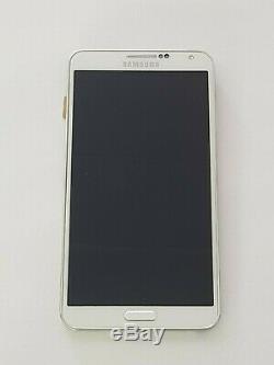 Ecran LCD Complet sur châssis Samsung Galaxy Note 3 Neo N7505 Blanc Original