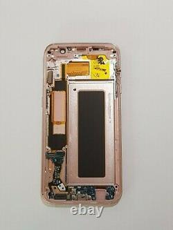 Ecran LCD Complète Original d'occasion Samsung Galaxy S7 Edge SM-G935F Rose