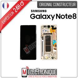 Ecran LCD GOLD Original Samsung Galaxy Note 8 SM-N950F