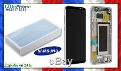 Ecran LCD Gold / Or 100 % Original Samsung Galaxy S8 G950F
