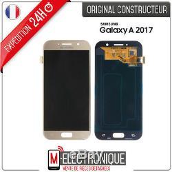 Ecran LCD Gold Original Samsung Galaxy A5 2017 SM-A520F + adhésif