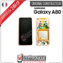 Ecran LCD Gold Original Samsung Galaxy A80 Sm-a805f