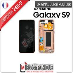 Ecran LCD Gold Original Samsung Galaxy S9 Sm-g960f