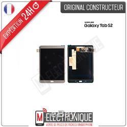 Ecran LCD Gold Original Samsung Galaxy Tab S2 8.0 Ve T713