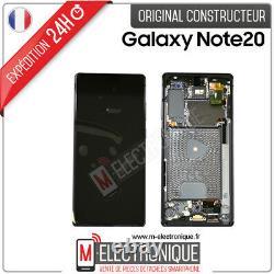 Ecran LCD Gray Original Samsung Galaxy Note 20 Sm-n981