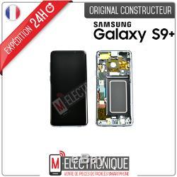 Ecran LCD Gris Original Samsung Galaxy S9+ Gris Sm-g965f