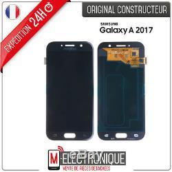 Ecran LCD Noir Original Samsung Galaxy A5 2017 SM-A520F + adhésif
