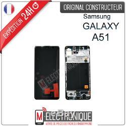 Ecran LCD Noir Original Samsung Galaxy A51 Sm-a515f