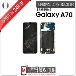 Ecran LCD Noir Original Samsung Galaxy A70 Sm-705f