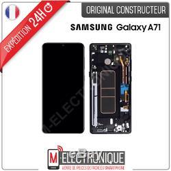 Ecran LCD Noir Original Samsung Galaxy A71 Sm-715f