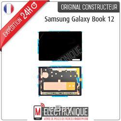 Ecran LCD Noir Original Samsung Galaxy Book 12 Sm-w720