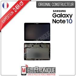 Ecran LCD Noir Original Samsung Galaxy Note 10.1 Wifi