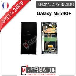 Ecran LCD Noir Original Samsung Galaxy Note 10+ Sm-n975f
